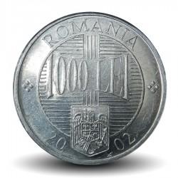 ROUMANIE - PIECE de 1000 Lei - Constantin Brancoveanu - 2002