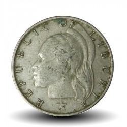 LIBERIA - PIECE de 10 Cents - Tête de Liberté - 1977