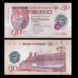 IRLANDE DU NORD - Bank of Ireland - 10 Pounds - Polymer - 2017 / 2019
