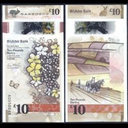 IRLANDE DU NORD - Ulster Bank Limited - 10 Pounds - Polymer - Agriculture - 2019