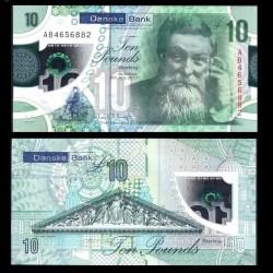 IRLANDE DU NORD - Danske Bank - 10 Pounds - Polymer - John Boyd Dunlop - 2017 / 2019 P214a