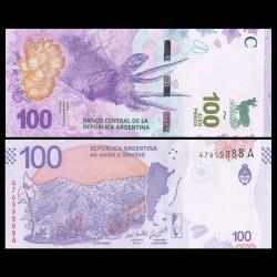 ARGENTINE - Billet de 100 Pesos - Cerf andin - 2018 P363Aa