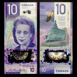 CANADA - Billet de 10 DOLLARS - Polymer - Viola Desmond - 2018