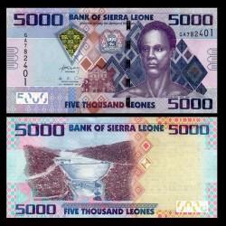 SIERRA LEONE - Billet de 5000 Leones - 04.08.2013