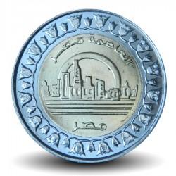 EGYPTE - PIECE de 1 Pound - Nouvelle Capitale de l'Egypte - Bimétal - 2019 Km#new