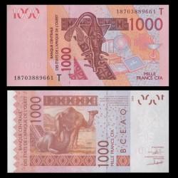 TOGO - Billet de 1000 Francs - Chameaux - 2003 / 2018 P815t?