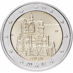 ALLEMAGNE - PIECE de 2 Euro - Bavière - 2012