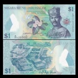 BRUNEI - Billet de 1 Ringgit / Dollar - Sultan Hassan al-Bolkiah I - 2013