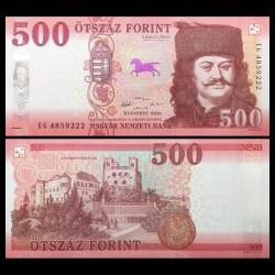 HONGRIE - Billet de 500 Forint - Château Sárospatak - 2018 P202a