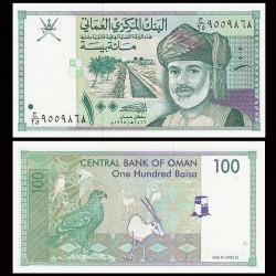 OMAN - Billet de 100 Baisa - Sultan Qabus ibn Said - 1995