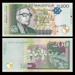 MAURICE (ile) - Billet de 200 Roupies - Sir Abdool Razack Mohamed - 2013 P61b