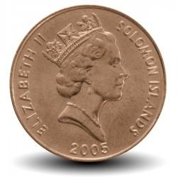 SALOMON - PIECE de 2 Cents - Aigle de l'ile Malaita - 2005