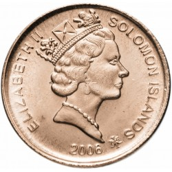 SALOMON - PIECE de 2 Cents - Aigle de l'ile Malaita - 2006