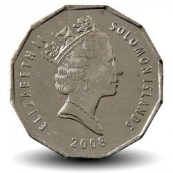 SALOMON - PIECE de 50 Cents - Armoiries des Îles Salomon - 2005