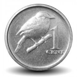 COOK (île) - PIECE de 1 CENTS - Oiseau - 2017