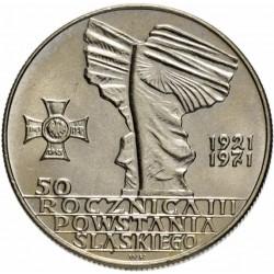 POLOGNE - PIECE de 10 zlotych - Union de la Haute Silésie - 1971