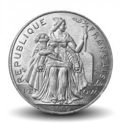NOUVELLE CALEDONIE - PIECE de 5 Francs - 2009 - Oiseau Cagou