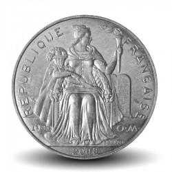 NOUVELLE CALEDONIE - PIECE de 5 Francs - 2008 - Oiseau Cagou