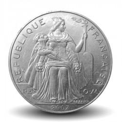 NOUVELLE CALEDONIE - PIECE de 5 Francs - 2007 - Oiseau Cagou