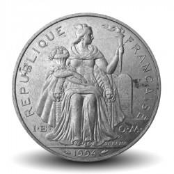 NOUVELLE CALEDONIE - PIECE de 5 Francs - 1994 - Oiseau Cagou
