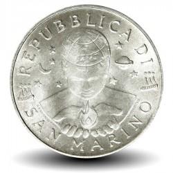 SAINT-MARIN - PIECE de 10 Lires - Ange - 2000