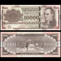 PARAGUAY - Billet de 10000 Guaranies - José Gaspar Rodríguez de Francia - 2017 P224g