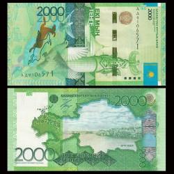 KAZAKHSTAN - Billet de 2000 Tenge - Kazakh Eli - 2012 P41a - Série AA
