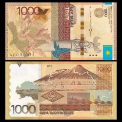 KAZAKHSTAN - Billet de 1000 Tenge - Plateau d'Oust-Ourt - 2014