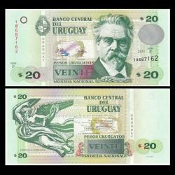 URUGUAY - Billet de 20 Pesos Uruguayos - 2011 P86b
