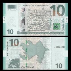 AZERBAIDJAN - Billet de 10 Manat - 2018
