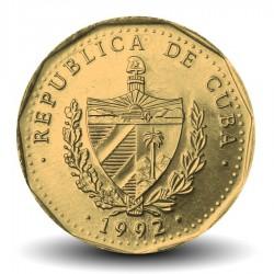 CUBA - PIECE de 1 PESO - José Marti - 1992