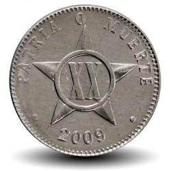 CUBA - PIECE de 20 CENTAVOS - 2009