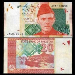 PAKISTAN - Billet de 20 Roupies - Mohenjo-daro - 2018