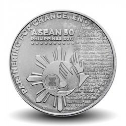 PHILIPPINES - PIECE de 1 Piso - Présidence de l'ASEAN - 2017