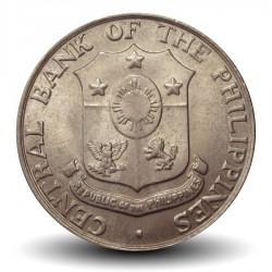 PHILIPPINES - PIECE de 25 Centavos - 1966