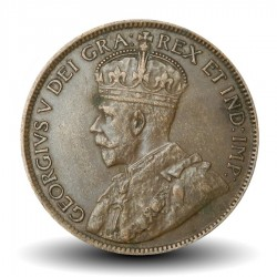 CANADA - PIECE de 1 Cent - Georges V - 1919
