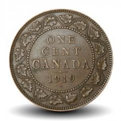 CANADA - PIECE de 1 Cent - Georges V - 1919
