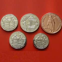 SAHARA OCCIDENTAL - SET / LOT de 5 PIECES de 1 2 5 10 25 Pesetas - 2018 Km#new