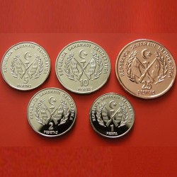 SAHARA OCCIDENTAL - SET / LOT de 5 PIECES de 1 2 5 10 25 Pesetas - 2018