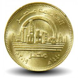 EGYPTE - PIECE de 50 Piastres - Nouvelle Capitale de l'Egypte -