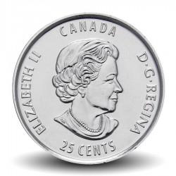 CANADA - PIECE de 25 Cents - La vie nordique - 2013