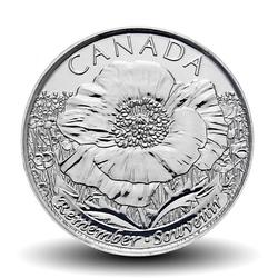 CANADA - PIECE de 25 CENTS - Coquelicot - 2015 Km#1852.2