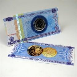 CHINE - Billet de 1 Bitcoin (Monnaie Virtuelle) - 2018 FC0184