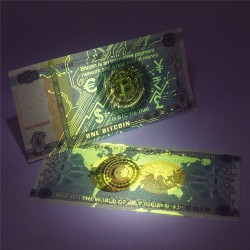 CHINE - Billet de 1 Bitcoin (Monnaie Virtuelle) - 2018