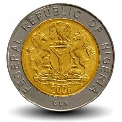 NIGERIA - PIECE de 1 Naira - Buste d'Herbert Macaulay - 2006