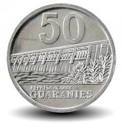 PARAGUAY - PIECE de 50 Guaranies - José Félix Estigarribia - 2012