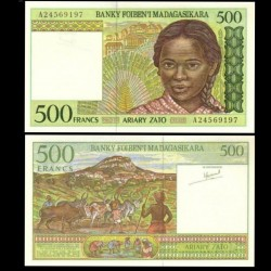 MADAGASCAR - Billet de 500 Francs - 1994