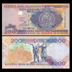 VANUATU - Billet de 200 Vatu - 2011