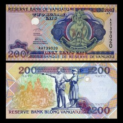 VANUATU - Billet de 200 Vatu - 1995