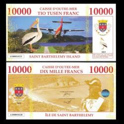 SAINT BARTHELEMY - Billet de 10000 Francs - Pélican / Oscar II - 2019